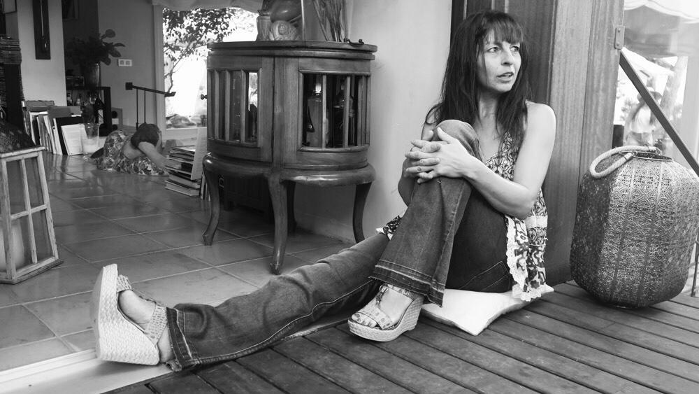 Modelos primera colección: Olga en Can Marc