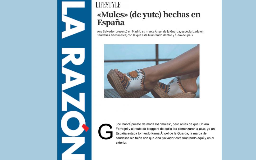 Publicación articulo en LA RAZÓN