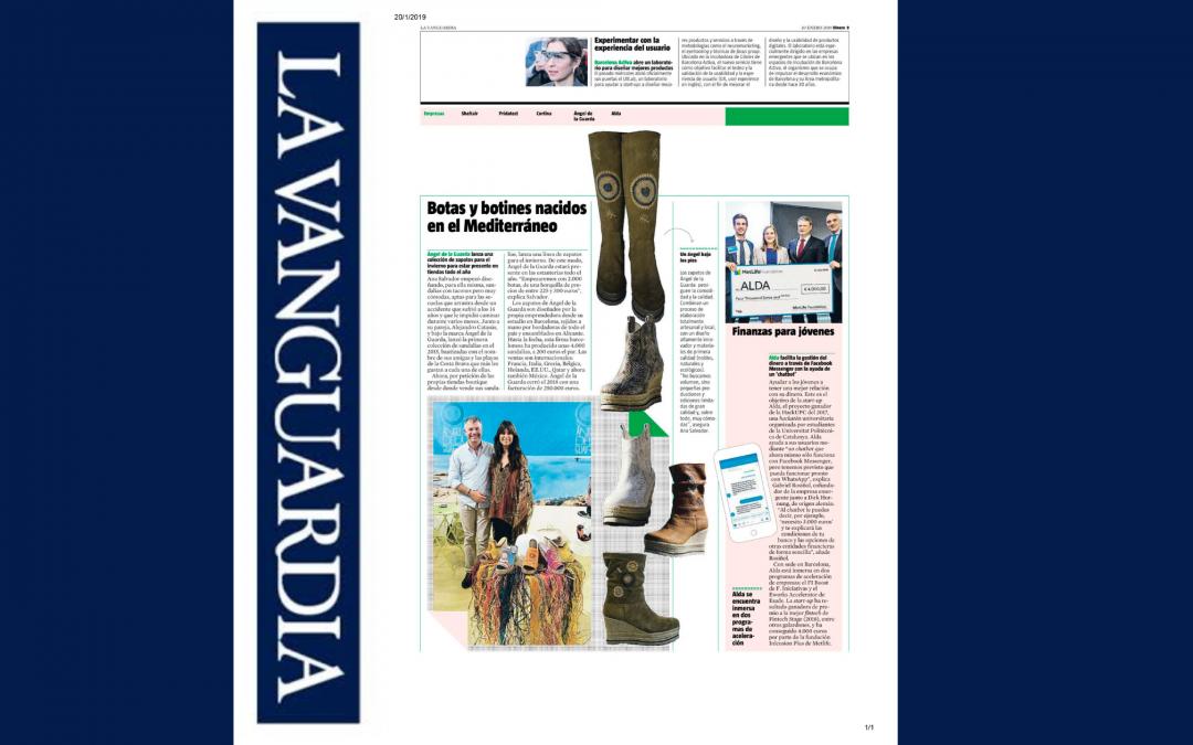 Artículo en Lavanguardia !!