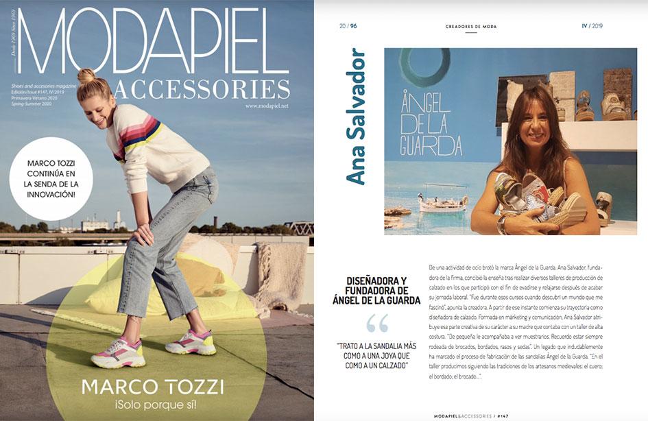 Aparición revista MODAPADIEL